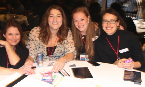 Stacey, Caroline, Becky, Sarah - foundation of the success of the conference