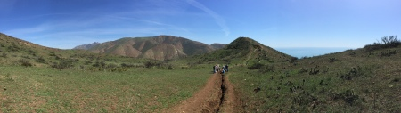 Learning in a beautiful place! CNPS Rare Plant Survey Protocols workshop, Point Mugu State Park, March 2016. Becky Reilly Photo
