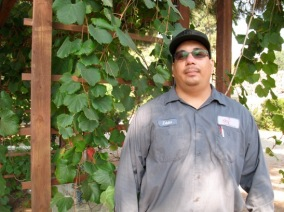 Eddie Munguia, Horticultural Lab Technician South Bay Botanic Garden