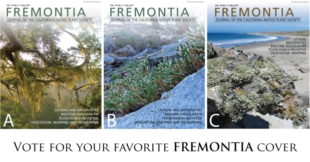 Vote for the next Fremontia cover!