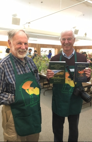 Brian LeNeve and Michael Mitchell at Monterey Wildflower Show